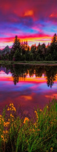 Jackson Hole, WY Beaver Dam Sunset by Jerry Patterson