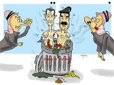 كاريكاتير - عبدالله المالكي (السعودية)  يوم الجمعة 9 يناير 2015  ComicArabia.com  #كاريكاتير