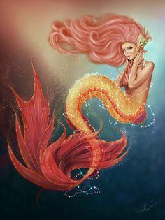 Online Buy Wholesale mermaid artwork from China mermaid artwork ...