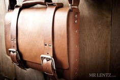 Leather Bag Men's Leather Bag Leather Briefcase Leather