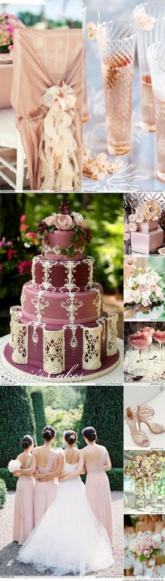Dusty Rose Weddings