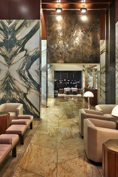 The first Viceroy outpost in NYC, this Roman & Williams–designed hotel opened in October 2013. #Jetsetter Lobby