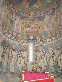 Tempera, Fresco, Church Icon, Mural Painting, Paintings, Byzantine Icons, Serbian, Kirchen, Carving