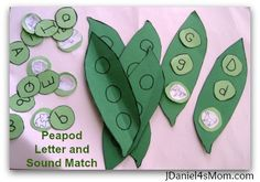 Peapod Letter and Sound Match