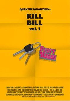 Kill Bill: Vol. 1 (2003) ~ Minimal Movie Poster by Stefano Pellegrini ~ Tarantino Series #amusementphile