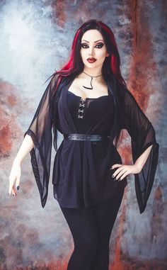 Model/MUA: Dani Divine Clothes: Necessary Evil / Kate's Clothing Photo: Vapour Trail Photography Welcome to Gothic and Amazing  www.gothicandamazing.com