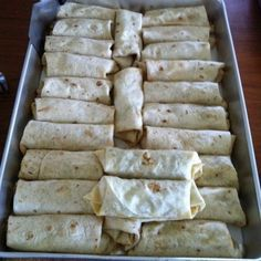 Deb's Lunch … and dinner and breakfast too › Breakfast Burritos – for a crowd