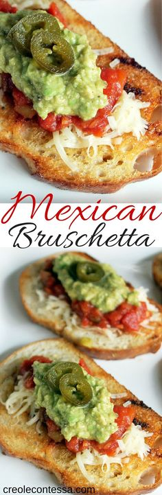 Mexican Bruschetta-C