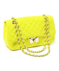 Take a look at this Yellow West Broadway Shoulder Bag by Amrita Singh on #zulily today!