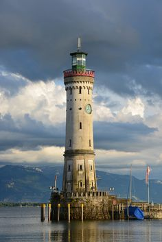 *lighthouse*, Lindu, Germany  by Ines Fuchs  #lindau, #Germany #German #lighthouses #lighthouse
