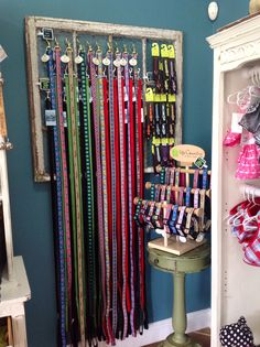 Sniffs 'N Wiggles Pet Wellness Boutique Display- Dog leads and collars, Cat collars, USA made