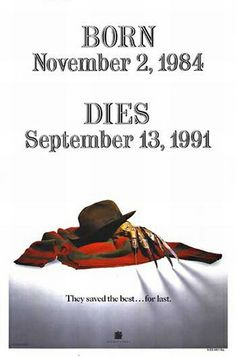 Freddy's Dead: The Final Nightmare - Teaser Poster