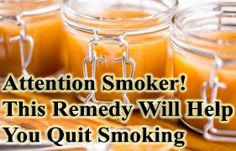 Each and every smoker wishes they coul quit! This remedy is all natural and a great way to stop those cravings. It has helped thousands of people quit and it can help you too! http://www.extremenaturalhealthnews.com/attention-smokers-this-home-remedy-will-help-you-quit-smoking/