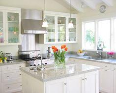 Decoração: 40 cozinhas brancas em vários estilos - Cores da Casa