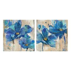 """Canvas art - Blue magnolia 15"""" x 15""""  #962371 $19.99 One of Two prints available www.lambertpaint.com"""