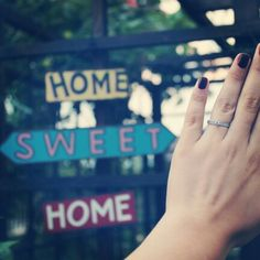 Home sweet home! Sweet Home, Engagement, House Beautiful, Engagements