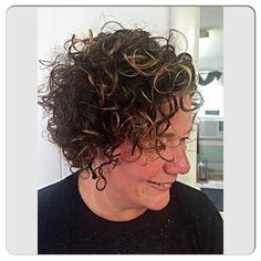 Deva Curl Cut & 3 Step Style #devacurl Deva Curl Cut, Curls, Curly Hair Styles, Roller Curls, Loki, Hair Weaves, Loose Curls