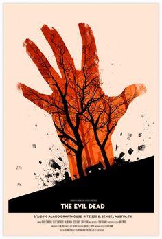 Olly Moss - evil dead poster