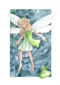 Tinkerbell, Disney Characters, Fictional Characters, Disney Princess, Painting, Art, Painting Art, Paintings, Kunst