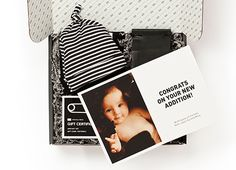 The most hip personalized baby gift boxes we've seen. They come with cool stuff for baby - and hand-roasted coffee for the parents.
