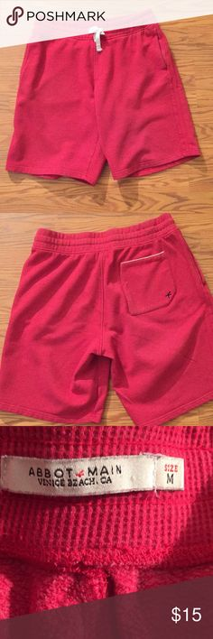 Abbot main shorts Abbot main jersey knit shorts Abbot Main Shorts Athletic