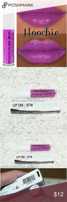 Obsessive Compulsive Cosmetics RTW Lip Tar New in Box/Never Used (Swatch from Google)  FullSz & Authentic  Color: Hoochie (extreme magenta)  OCC Lip Tar is the original liquid lipstick, known for its unrivaled pigment intensity, mixability & wear-time! Only the smallest drop of product applied with the newly-included doe-foot wand is needed for full coverage & a natural, satin finish. Prefer a glossy texture? Layer for added luster.  Made with Hemp Oil & Vitamin E for a moisturizing finish…