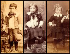 Part 2 of blog series on how to tell gender of children in old photos.
