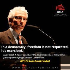 HC: Political Persecution of a Catalan Judge