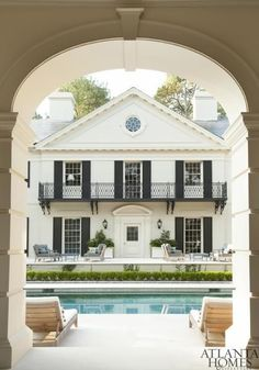 Our Favorite Pool Houses | Atlanta Homes & Lifestyles