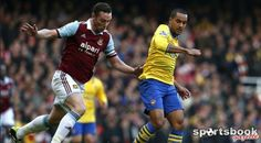 Walcott double rescues Arsenal at West Ham  Premier League, Upton Park - West Ham 1 (Cole 46) Arsenal 3 (Walcott 68, 70, Podolski 79).