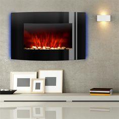 Klarstein Lausanne elektrischer Kamin 2000W LED Flammen Fernbedienung @klarstein