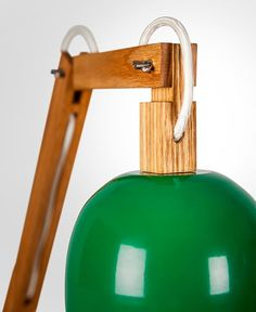 NUNY Wood Oak Desk Lamp Desk Lamps Wood Lamps