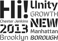 Design Work Life » Type Love: Brooklyn and Brooklyn Stencil