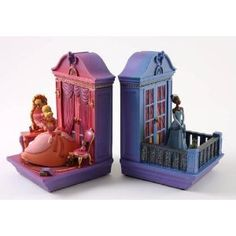 Bookcase  Princess and the Frog( Charlotte and Tiana)