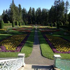 Manito Park Gardens- Spokane Washington