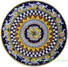 Italian Ceramic Wall Plates from Sicily | Italian Obsessed ...