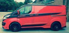 Ford Transit Custom M-Sport Panel and Crew Van - RCFS