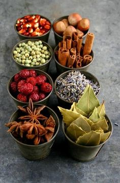 Autumn spices