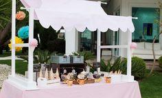 Máquina de sorvete para festa infantil