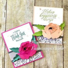 Gift Cards Money, Diy Cards, Peonies Garden, Stampin Up Catalog, Beaded Crafts, Plastic Canvas Patterns, Stamping Up, Flower Cards, Creative Cards