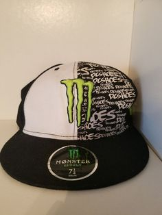 cbf236f2f49 Monster energy DC SHOES hat. 7 1 4 size  fashion  clothing  shoes   accessories  mensaccessories  hats (ebay link)