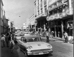 صورة رائعة من شارع الرشيد في مدينة بغداد في العام 1964 م