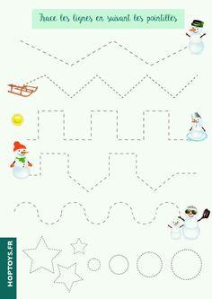 Winter Activities, Christmas Activities, Kids Christmas, Preschool Activities, Christmas Crafts, Preschool Writing, Preschool Worksheets, Christmas Worksheets, Theme Noel