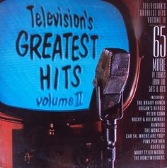 Various Artists - Television's Greatest Hits, Volume 2: 65 More TV Themes From The 50's & 60's (T-V-T Records)