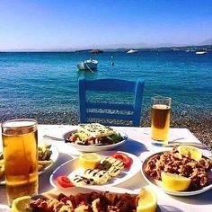 There's no place like Greece and delicious Greek food   Photo by Vassilis Polyzos