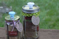 Anthropologie Style Snack Jars for Teacher Appreciation