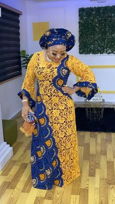 African Lace Styles, Latest African Fashion Dresses, African Dresses For Women, African Print Fashion, Lace Dress Styles, Kaftan Style, African Traditional Dresses, Classy Dress, Skirt Fashion