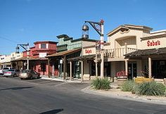 Old Town Scottsdale Arizona.  Neat, one of a kind shops.
