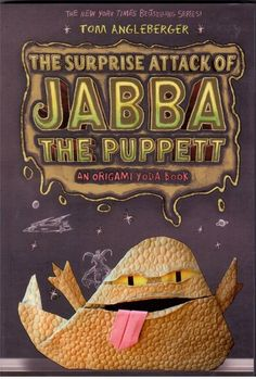 The Surprise Attack of Jabba The Puppett - An Origami Yoda Book by Tom Ang - NEW