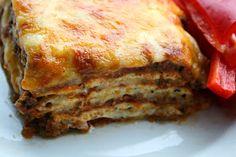 LCHF - Den omvendte verden: Min bedste LCHF lasagne til dato